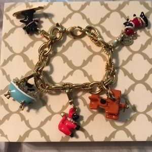 Juicy Couture Scottie Dog Charm Bracelet